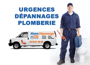 urgence plombier alsace